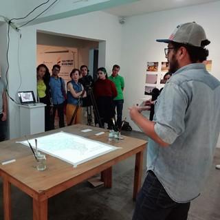 Socialización del proyecto de Federico Ortegón