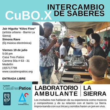 CuBO.X, Ana María Agudelo y Andrés Felipe Restrepo: Intercambio de saberes