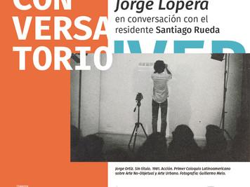 Conversatorio acerca del I Coloquio Latinoamericano sobre Arte No-Objetual y Arte Urbano