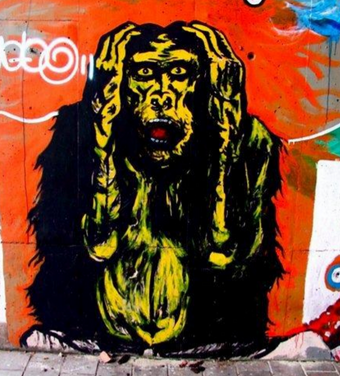 Redtrospectiva: skate, salsa, graffiti y creación de calcomanías con el colectivo Red Eye en el Banc