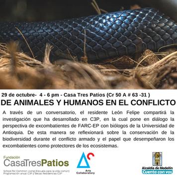 Conversatorio:  Residente de C3P,  León Felipe Jiménez