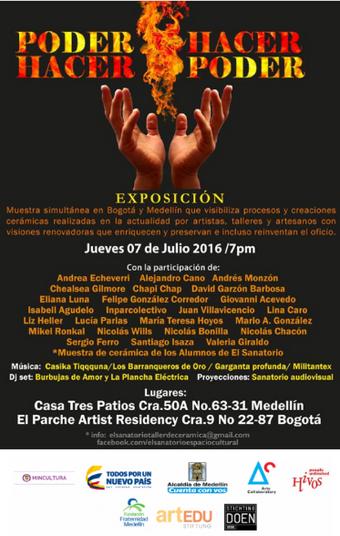 """""""Poder hacer - hacer poder"""", exposición de El Sanatorio Espacio Cultural"""