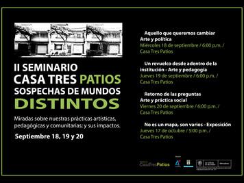 II Seminario de C3P, Sospechas de Mundos Distintos