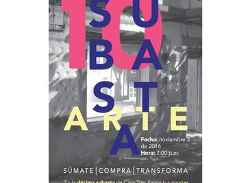 DÉCIMA SUBASTA ANUAL DE ARTE