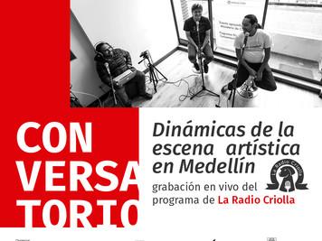 Conversatorio: Dinámicas de la escena artística en Medellín