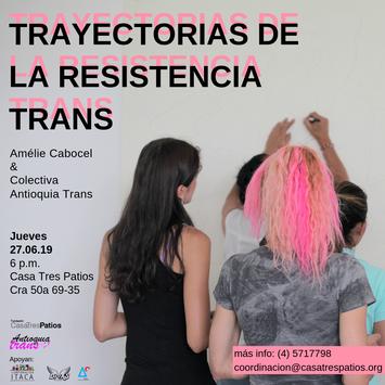 Conversatorio, Amélie Cabocel: Trayectorias de la residencia trans .