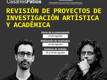 Revisión de proyectos de investigación artística y académica