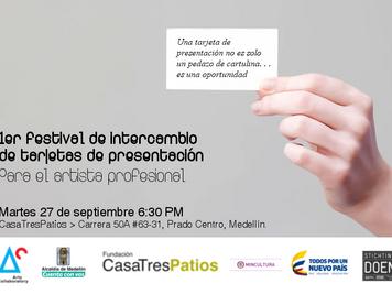 1er Festival de Intercambio de Tarjetas de Presentación con Luciana Ponte