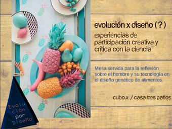 Evolución por diseño (?) - Este jueves 4 de  agosto a las 6:30 p.m. en C3P