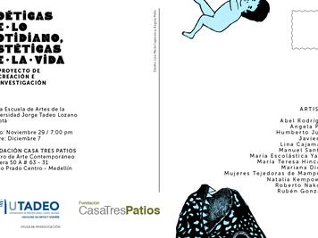 Exposición: Poéticas de lo cotidiano, estéticas de la vida