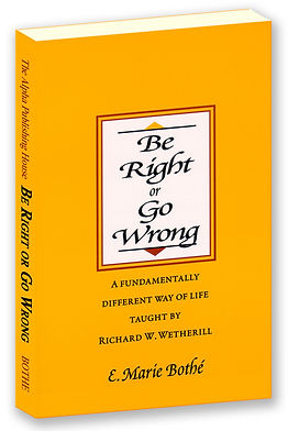 Be Right or Go Wrong book