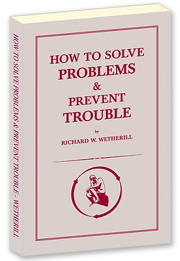 How to Solve Problems & Prevent Trouble book