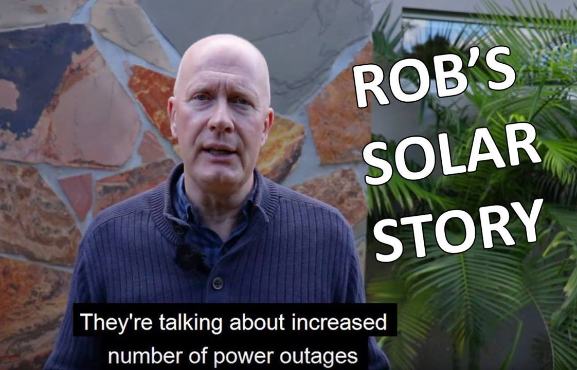 Part 1: Rob Buckingham - Solar and Battery Story