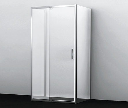 Berkel 48P21 Душ уголок, П-образный с универс-й распашной дверью 1200x900x2000мм
