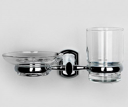 K-3026 Держатель стакана и мыльницы WasserKRAFT