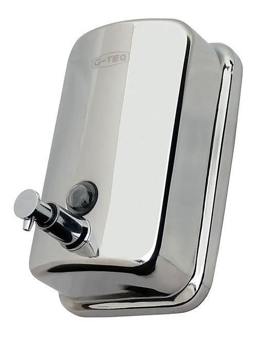 Дозатор для жидкого мыла 0,8 л. (Нержавеющая сталь) G-teq 8608