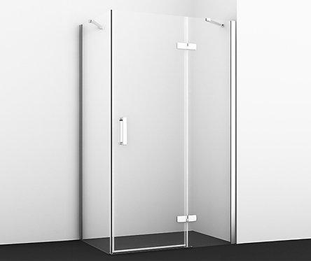 Aller 10H10RWHITE Душ уголок, прямоуг., с правой распашной дверью 1200x1000x2000