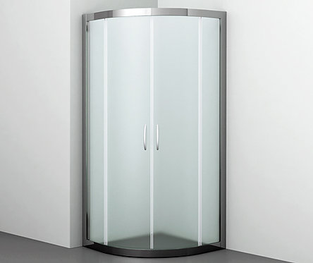 Isen 26S01 Matt glass Душевой уголок, с раздв. дверьми, стекло мат. 900х900х1850