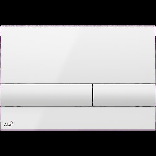 Кнопка управления (белая) для скрытых систем инсталляции, Alcaplast M1710
