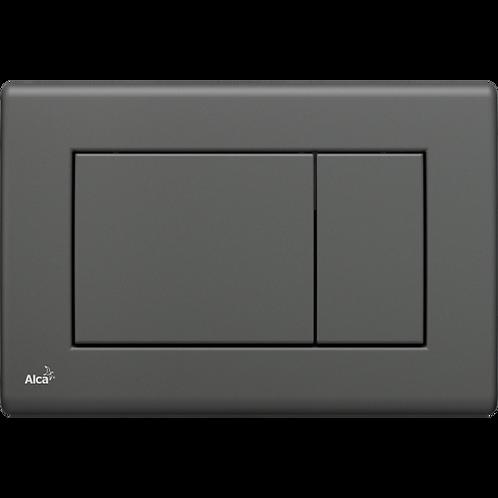 Кнопка управления (aнтрацит) для скрытых систем инсталляции, Alcaplast M277