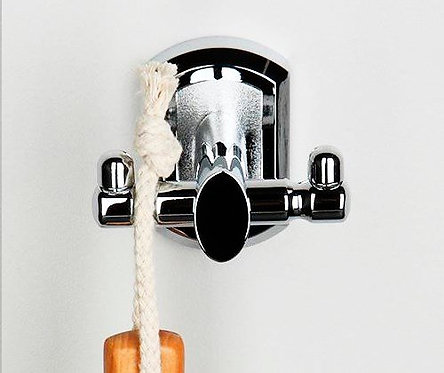 K-3023D Крючок двойной (Металл) WasserKRAFT