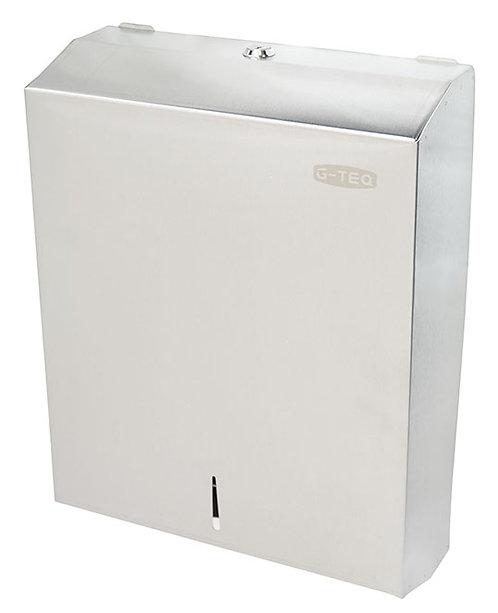 Диспенсер для бумажных полотенец (нержавеющая сталь) G-teq 8955