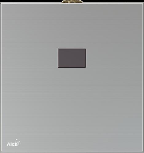 Автоматический смыв для писсуара, металл,(подключение к сети) Alcaplast ASP4-K