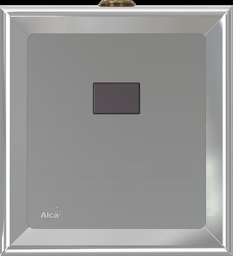 Автоматический смыв для писсуара, хром,(подключ. к аккумулятор) Alcaplast ASP4-В