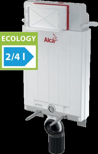 Инсталляция ECOLOGY для замуровывания в стену Alcaplast AM100/1000E