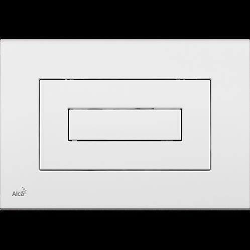 Кнопка управления (белая) для скрытых систем инсталляции, Alcaplast M470