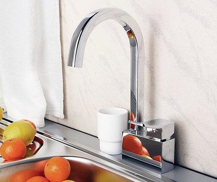 Aller 1067 Смеситель для кухни с поворотным изливом WasserKRAFT
