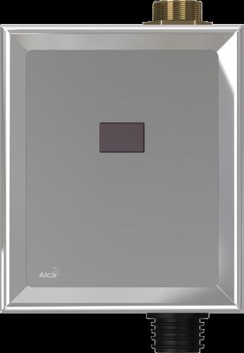Автоматический смыв для унитаза,хром,(подключ. к аккумулятору) Alcaplast ASP3-B