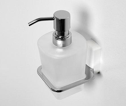 К-5099WHITE Дозатор для жидкого мыла стеклянный, 300 ml WasserKRAFT