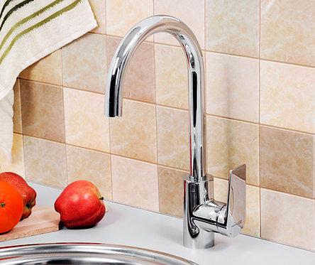 Lopau 3207 Смеситель для кухни с поворотным изливом WasserKRAFT