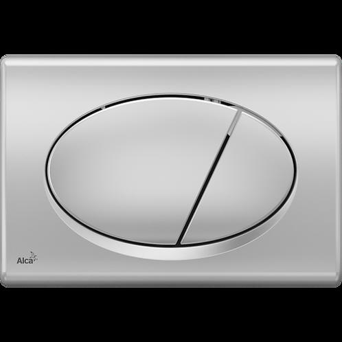 Кнопка управления (xром-мат) для скрытых систем инсталляции, Alcaplast M72