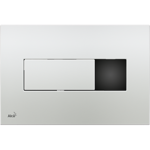 Сенсорная кнопка управления хром-глянец (подключение к сети) Alcaplast M371S