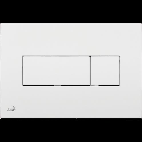 Кнопка управления (белая) для скрытых систем инсталляции, Alcaplast M370