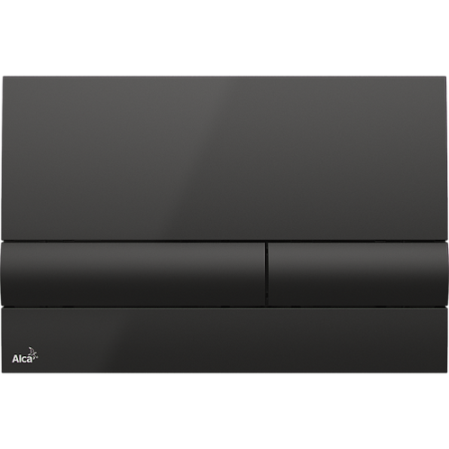 Кнопка управления (черная) для скрытых систем инсталляции, Alcaplast M1718