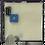 Thumbnail: Сенсорная кнопка управления (белая) (подключение к сети) Alcaplast M370S