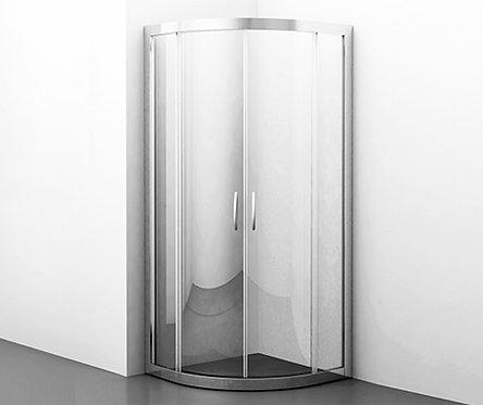 Isen 26S01 Душевой уголок, сектор, с раздвижными дверьми 900х900х1850