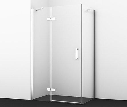 Aller 10H06LWHITE Душ уголок, прямоуг., с левой распашной дверью 1200x800x2000
