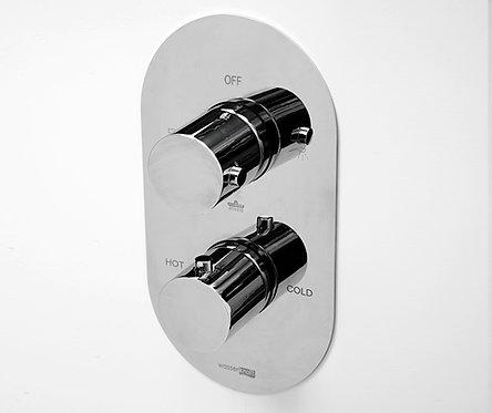 Berkel 4844 Thermo Термостатический смеситель для ванны и душа WasserKRAFT
