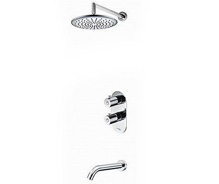 А15030 Thermo Встр-мый компл. для ванны с изливом и верхней душ нас-кой WasserKR