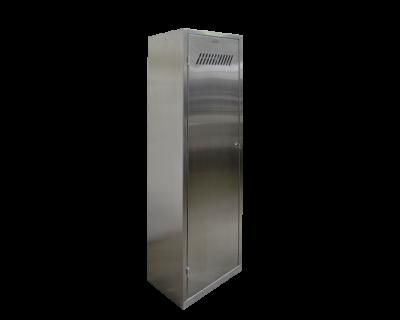 Шкаф для уборочного инвентаря (500х350х1800 мм)