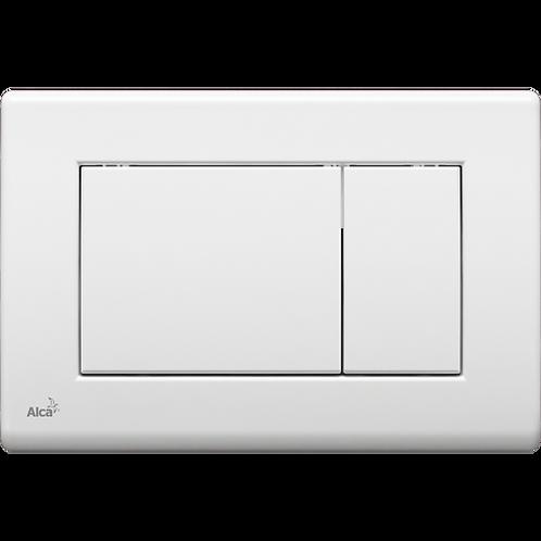 Кнопка управления (белая) для скрытых систем инсталляции, Alcaplast M270