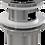 Thumbnail: Донный клапан Alcaplast цельнометаллический с переливом и малой заглушкой A39