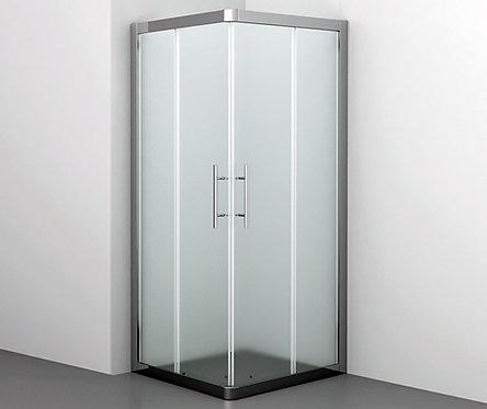 Amper 29S03 Matt glass Душ. уголок с раздвиж. дверьми, стекло мат. 900х900х1850