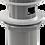 Thumbnail: Донный клапан Alcaplast цельнометаллический с переливом и большой заглушкой A392