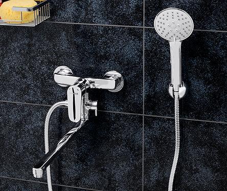 Vils 5602L Смеситель для ванны с длинным поворотным изливом WasserKRAFT