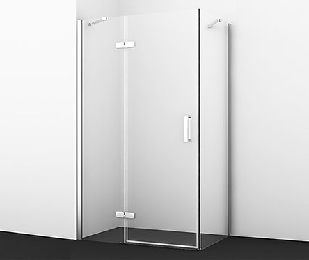 Aller 10H06L Душ уголок, прямоугольник, с левой распашной дверью 1200x800x2000